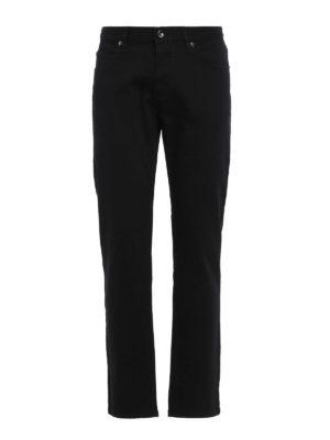 Giorgio Armani: straight leg jeans - Classic five pocket jeans