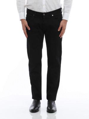 Giorgio Armani: straight leg jeans online - Classic five pocket jeans