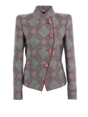 Giorgio Armani: Tailored & Dinner - Macro check virgin wool jacket
