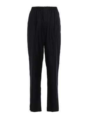 Giorgio Armani: Tailored & Formal trousers - Wool and cashmere blend trousers