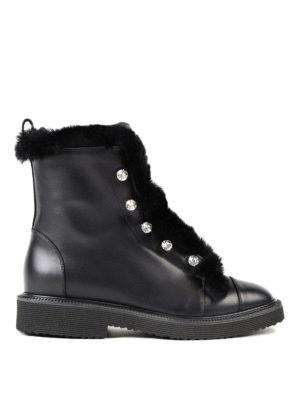 Giuseppe Zanotti: ankle boots - Glenn jewel ankle boots