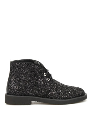 Giuseppe Zanotti: ankle boots - Look glittered desert boots