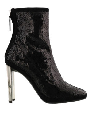 Giuseppe Zanotti: ankle boots - Luce sequined ankle boots