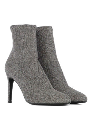 Giuseppe Zanotti: ankle boots online - Celeste glittered fabric booties