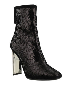 Giuseppe Zanotti: ankle boots online - Luce sequined ankle boots