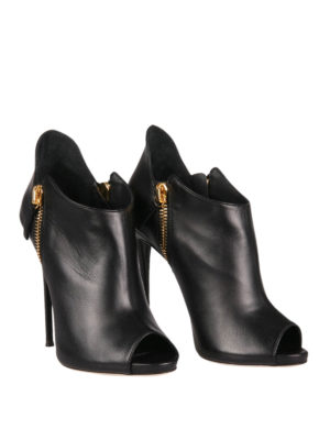 Giuseppe Zanotti: ankle boots online - Malika peep toe ankle boots