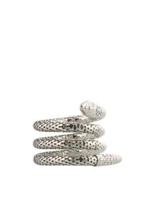 Giuseppe Zanotti: Anklets online - Crystal embellished snake anklet
