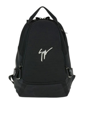 Giuseppe Zanotti: backpacks - Mack fabric backpack