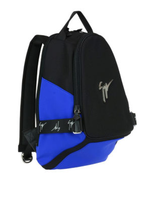 Giuseppe Zanotti: backpacks online - Mack two-tone fabric backpack