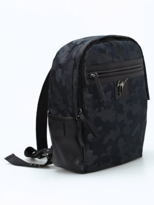 Giuseppe Zanotti: backpacks online - Randy camu backpack