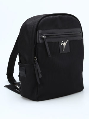 Giuseppe Zanotti: backpacks online - Randy technical fabric backpack