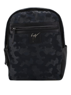 Giuseppe Zanotti: backpacks - Randy camu backpack