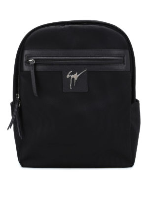 Giuseppe Zanotti: backpacks - Randy technical fabric backpack