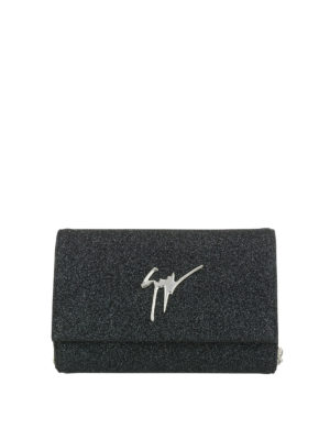 Giuseppe Zanotti: clutches - Lory Bright glittered clutch