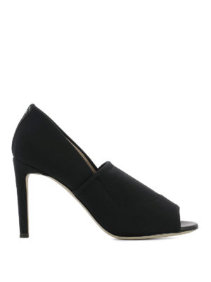 Giuseppe Zanotti: court shoes - Alien 90 fabric open-toe pumps