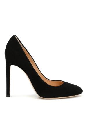 Giuseppe Zanotti: court shoes - Annette suede pumps