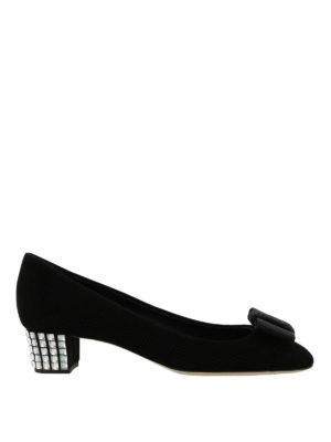Giuseppe Zanotti: court shoes - Jewel heel court shoes