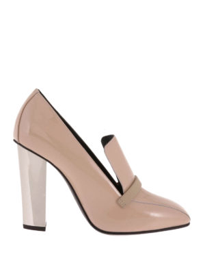 Giuseppe Zanotti: court shoes - Loafer inspired glossy pumps