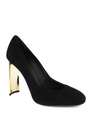 Giuseppe Zanotti: court shoes online - Laurine suede pumps