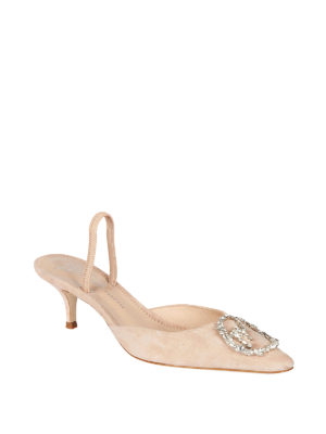 Giuseppe Zanotti: court shoes online - Leather slingback pumps