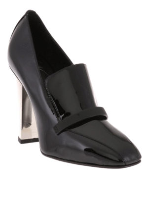 Giuseppe Zanotti: court shoes online - Loafer inspired glossy pumps