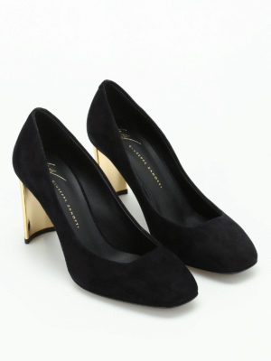 Giuseppe Zanotti: court shoes online - Ruggente suede pumps