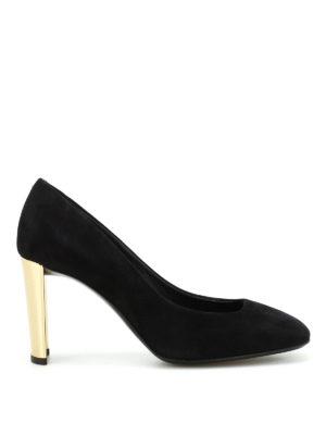Giuseppe Zanotti: court shoes - Ruggente suede pumps