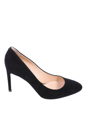 Giuseppe Zanotti: court shoes - Super feminine suede pumps