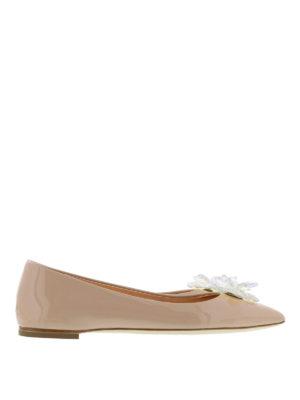 Giuseppe Zanotti: flat shoes - Lucrezia flower detail flats
