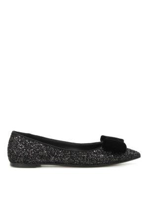 Giuseppe Zanotti: flat shoes - Lucrezia glittered flats