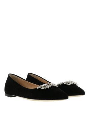 Giuseppe Zanotti: flat shoes online - Lucrezia embellished flats