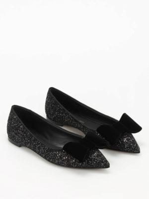 Giuseppe Zanotti: flat shoes online - Lucrezia glittered flats