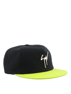 GIUSEPPE ZANOTTI: cappelli - Cappellino da baseball bicolore