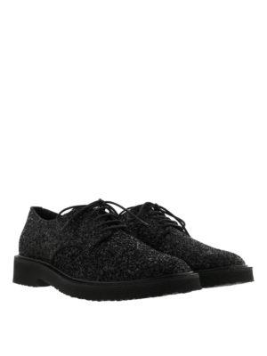 Giuseppe Zanotti: lace-ups shoes online - Tyson glitter Derby shoes