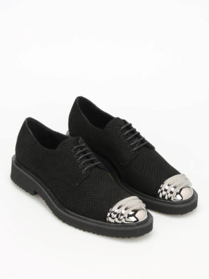Giuseppe Zanotti: lace-ups shoes online - Tyson suede Derby shoes