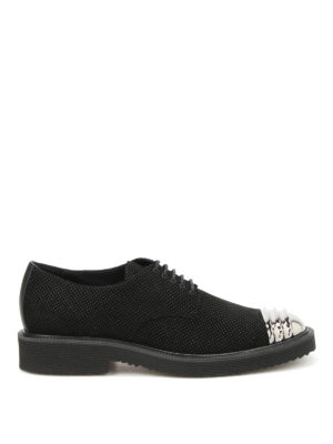Giuseppe Zanotti: lace-ups shoes - Tyson suede Derby shoes