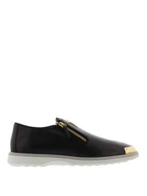 Giuseppe Zanotti: Loafers & Slippers - Cooper leather slippers