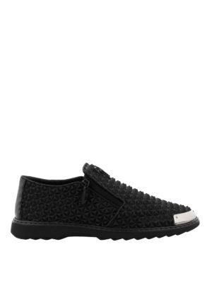 Giuseppe Zanotti: Loafers & Slippers - Cooper rubber slipper