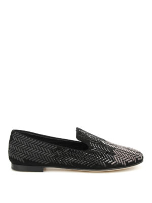 Giuseppe Zanotti: Loafers & Slippers - Dalila embellished slippers