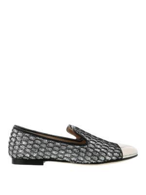 Giuseppe Zanotti: Loafers & Slippers - Dalila glitter slippers