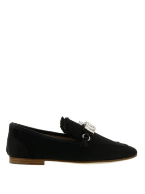 Giuseppe Zanotti: Loafers & Slippers - Letizia embellished loafers