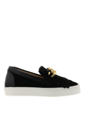 Giuseppe Zanotti: Loafers & Slippers - May London suede loafers