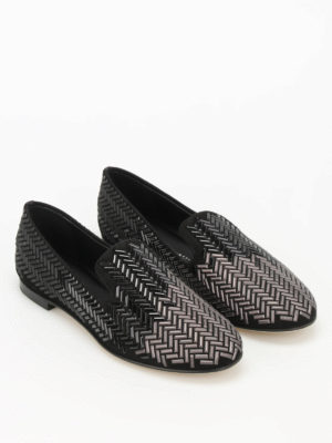 Giuseppe Zanotti: Loafers & Slippers online - Dalila embellished slippers