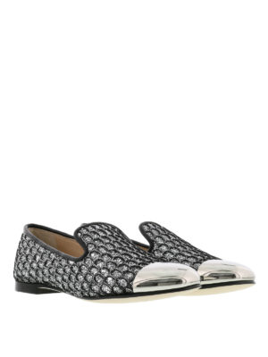Giuseppe Zanotti: Loafers & Slippers online - Dalila glitter slippers