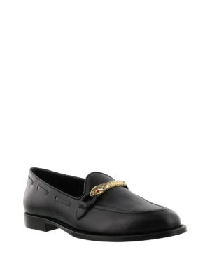 Giuseppe Zanotti: Loafers & Slippers online - Grady loafers with snake detail