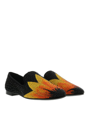 Giuseppe Zanotti: Loafers & Slippers online - Kevin crystal embellished loafers