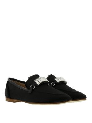 Giuseppe Zanotti: Loafers & Slippers online - Letizia embellished loafers