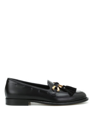 Giuseppe Zanotti: Loafers & Slippers - Wainer loafers with tassels