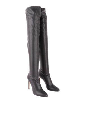 GIUSEPPE ZANOTTI: stivali online - Stivali cuissard Dena in pelle stretch