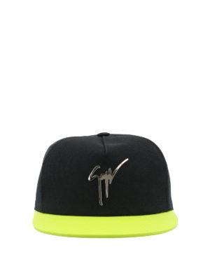 GIUSEPPE ZANOTTI: cappelli online - Cappellino da baseball bicolore
